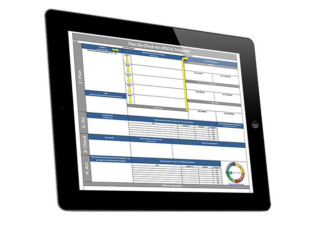 free pdca cycle excel template